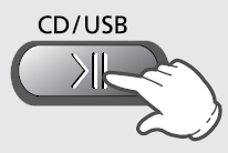CD / USB 버튼