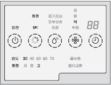 AU-PA170SG모델 각 버튼
