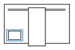 올인원 pc 뒷면 라벨 위치 이미지