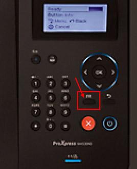 제품 조작부의 취소버튼 위에 메뉴 버튼 위치 화면