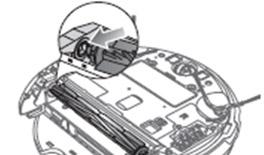 5. 손질이 끝나면 파워브러시를 비상 스위치 맞은편 방향으로 먼저 정확히 고정시키고 반대쪽도 동일한 방법으로 고정하여 주세요.