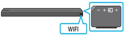 사운드바의 외부입력 Wi-Fi 확인 이미지