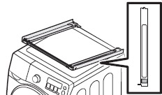 GUIDE STACKING 밑면의 테이프 비닐을 벗기는 이미지